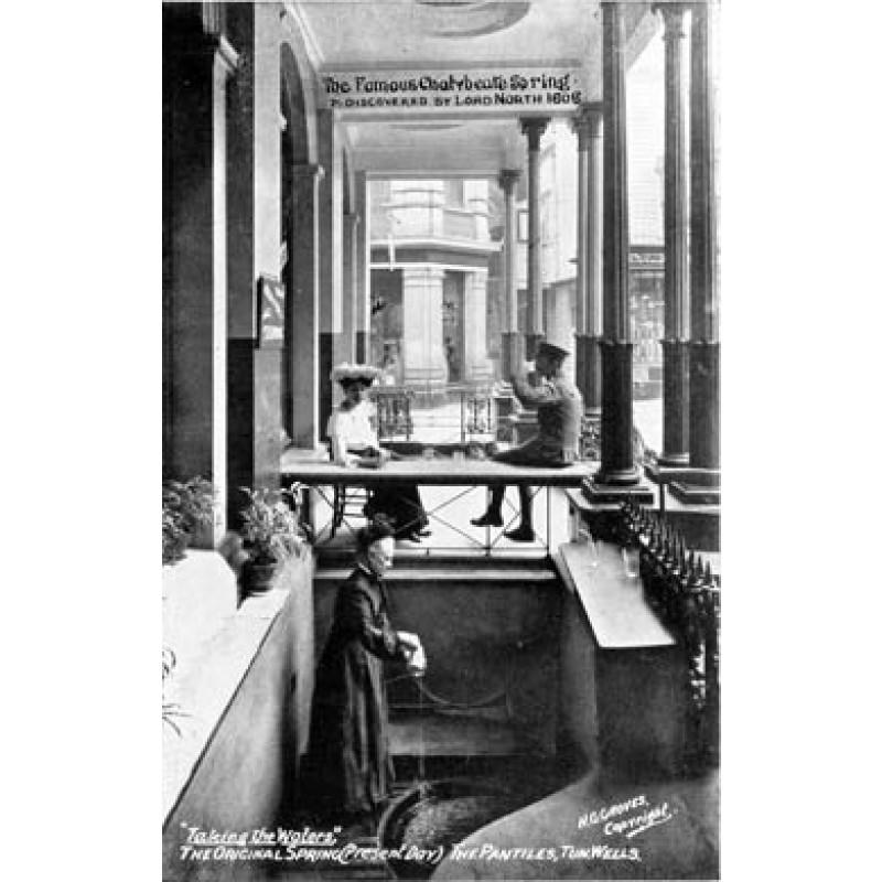 Taking The Waters, Tunbridge Wells, 1908
