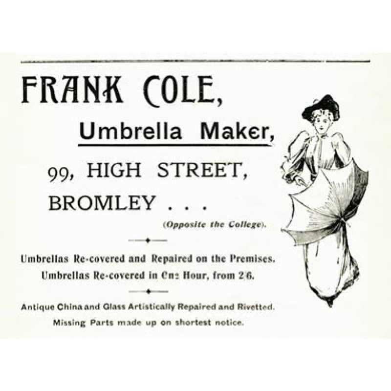 Frank Cole, Umbrella Maker