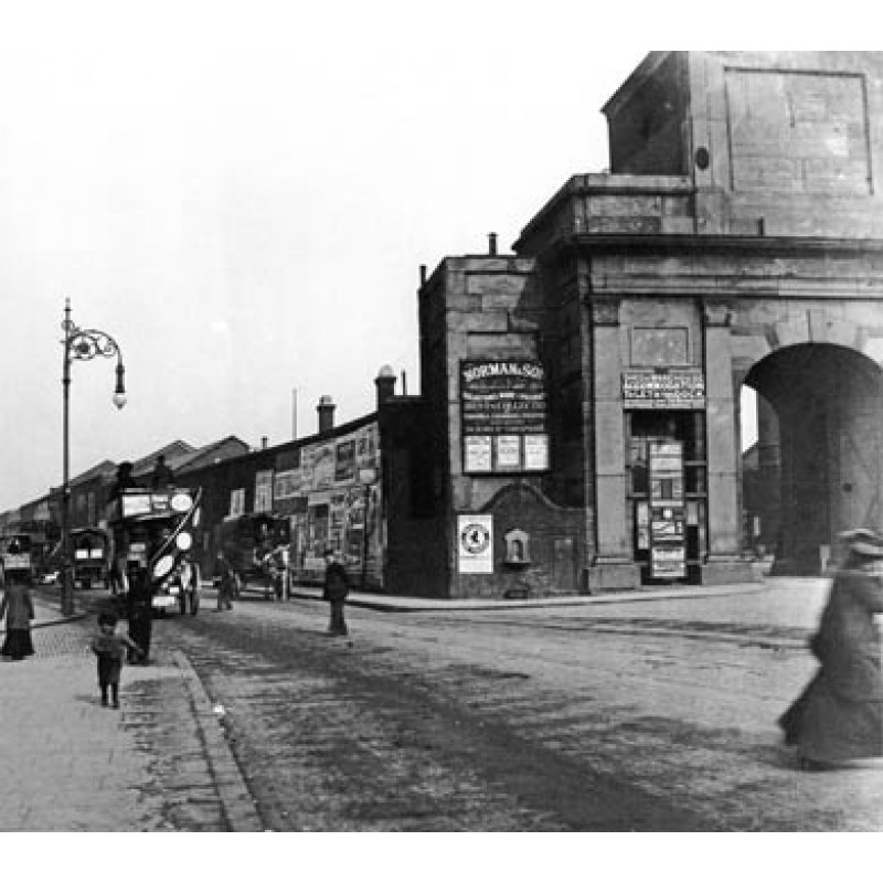 East India Docks Entrance 1906