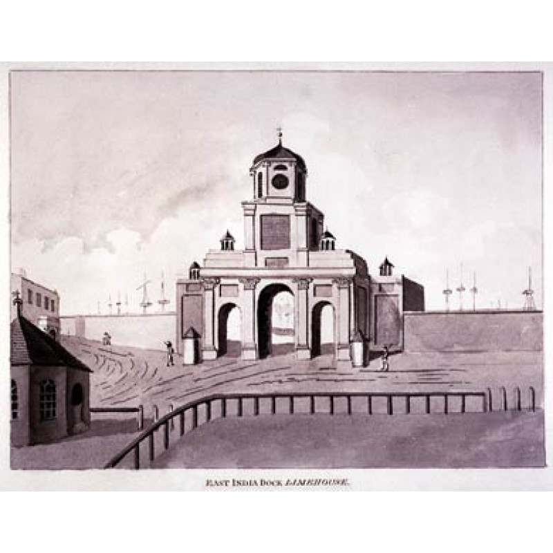 East India Docks Entrance 1810