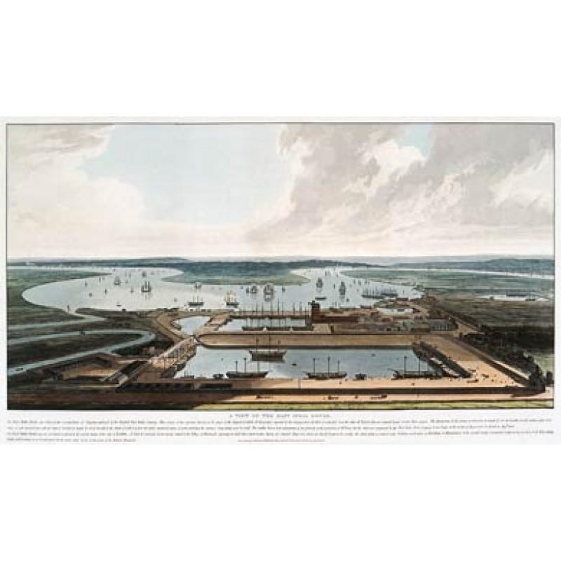 East India Docks 1808