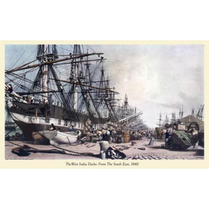 West India Docks 1840