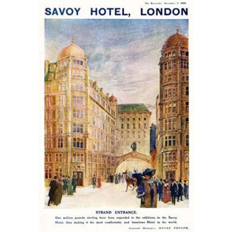Savoy Hotel, 1904