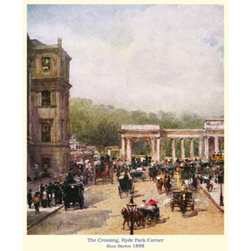 The Crossing, Hyde Park Corner, 1898
