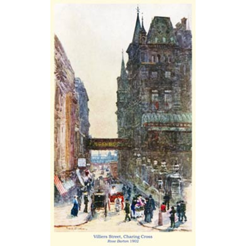 Villiers Street, Charing Cross, 1902
