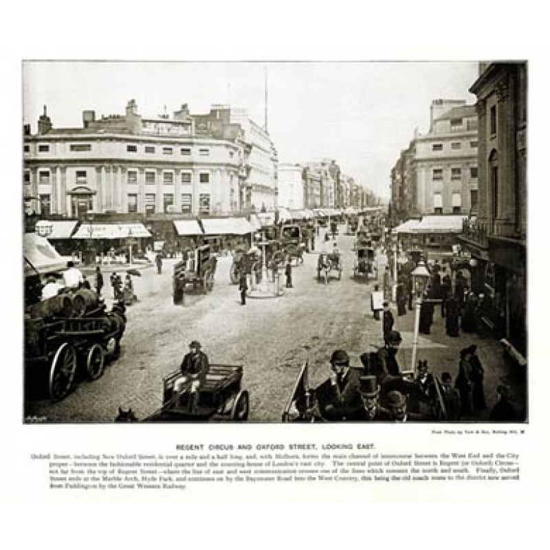 Oxford Street and Oxford Circus,