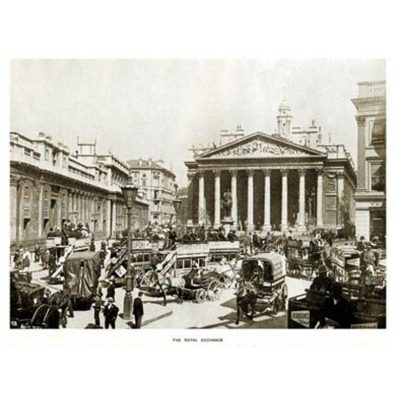The Royal Exchange, 1908