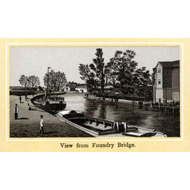 Norwich, View From Foundry Bridge