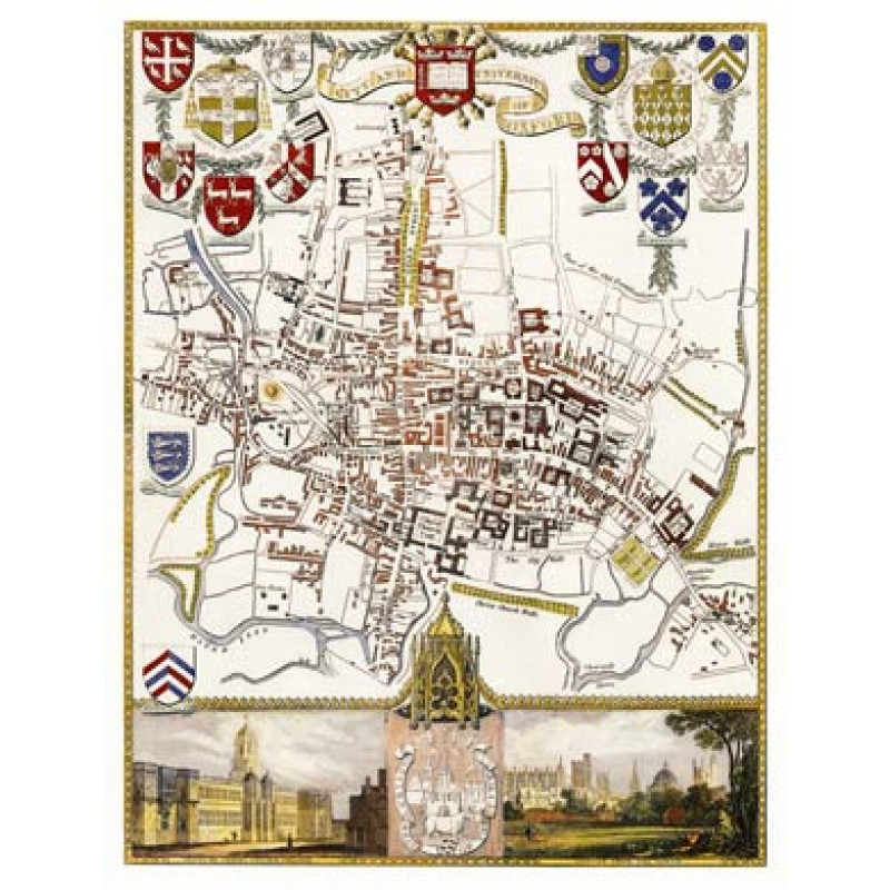 Oxford Map
