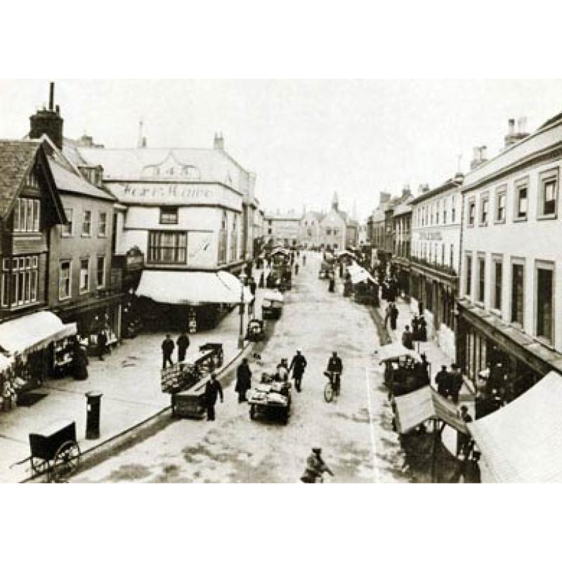 Bury St Edmunds, Buttermarket, 1890