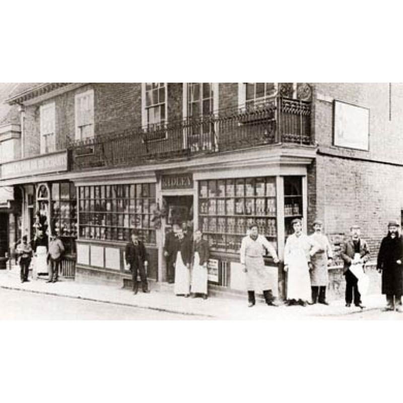 Bury St Edmunds, Ridley's, 1890