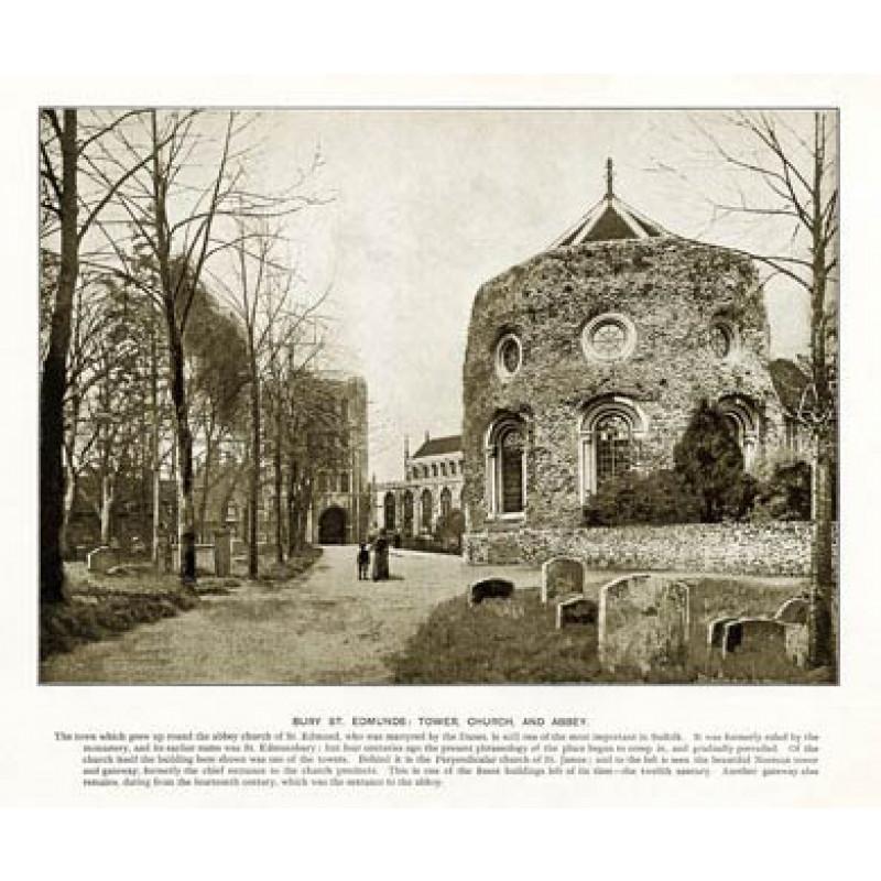 Bury St Edmunds, Tower, Church & Abbey