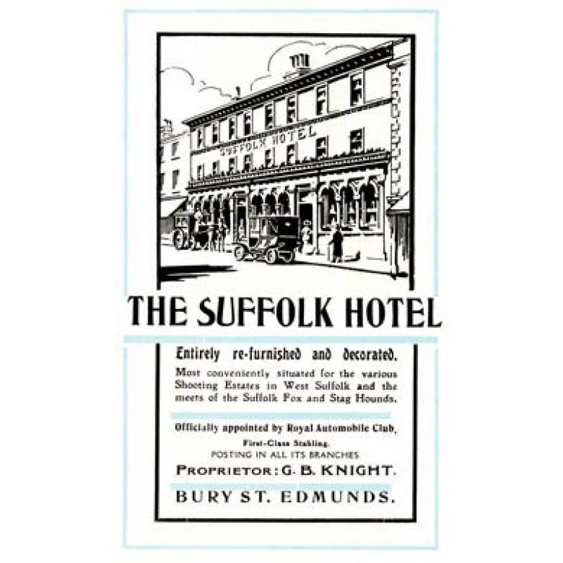 Suffolk Hotel, Bury St Edmunds