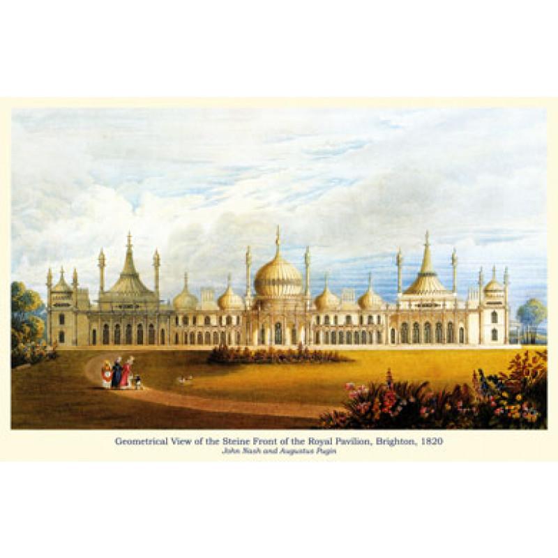 Brighton Royal Pavilion, Steine Front