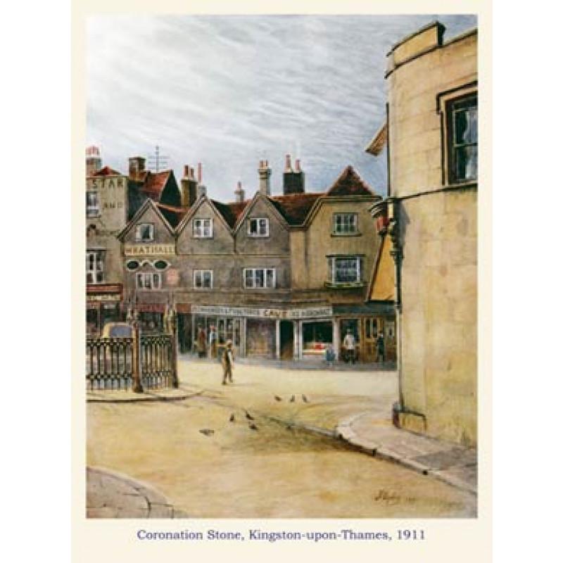 Coronation Stone, Kingston, 1911