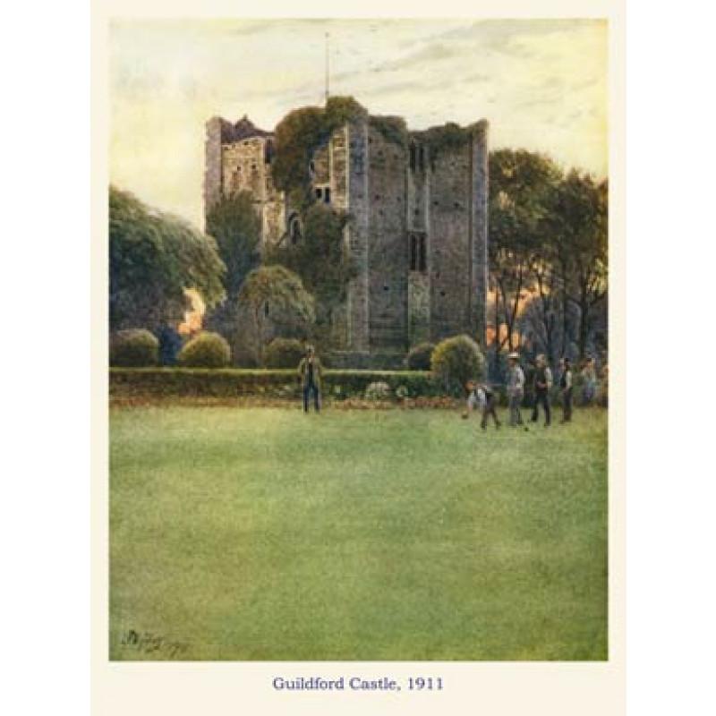Guildford Castle, 1911