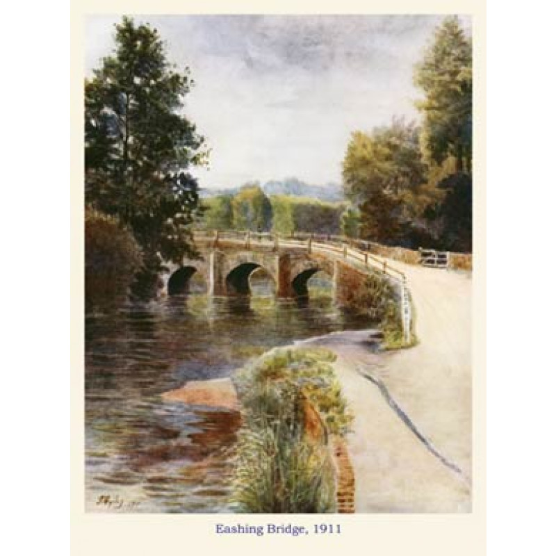 Eashing Bridge, 1911