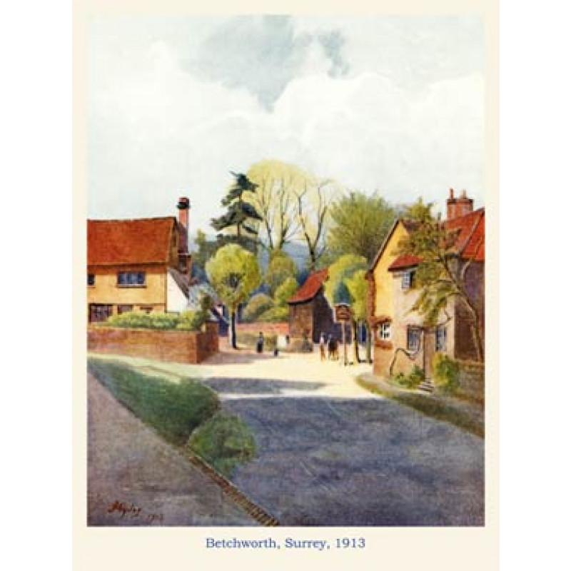 Betchworth, Surrey, 1913