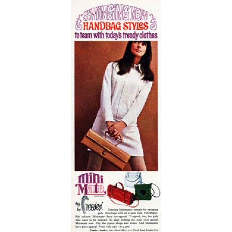 Freedex Minimate Handbags , 1967