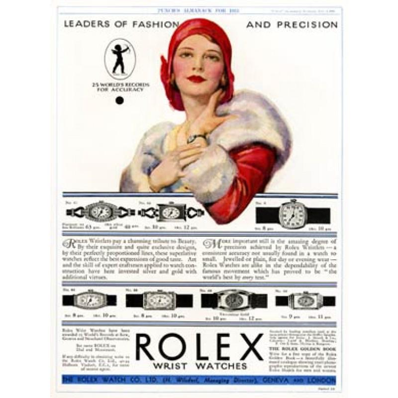 Rolex Wrist Watches, 1930