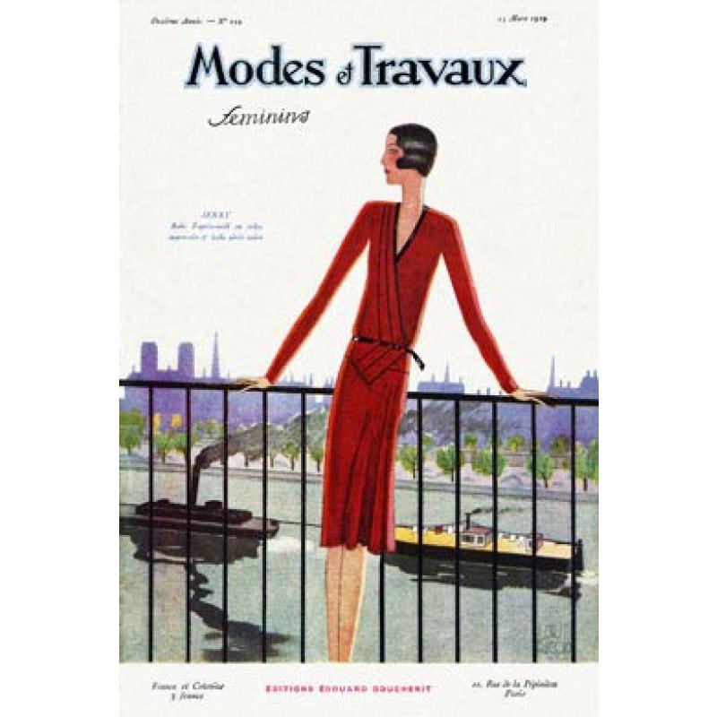 Modes Et Travaux, March 1929