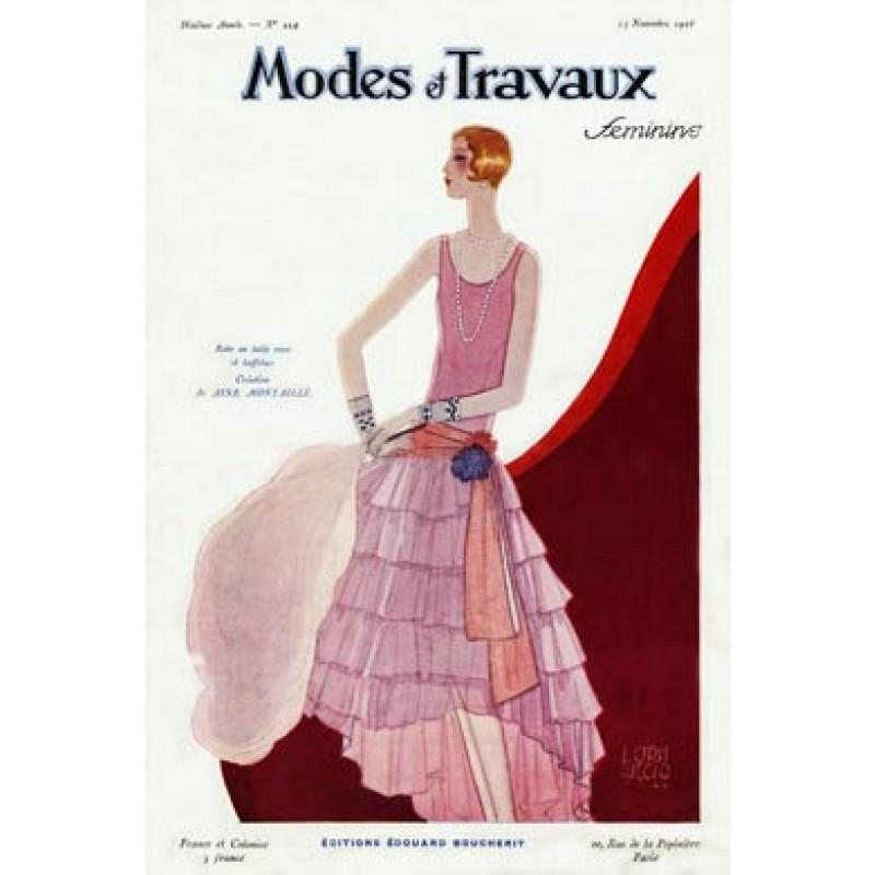 Modes Et Travaux, Nov 1928
