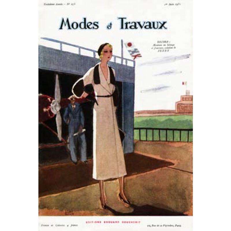 Modes Et Travaux, June 1931