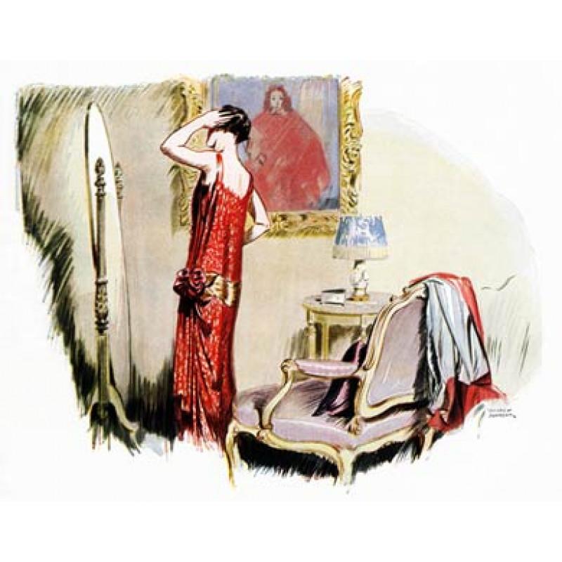 Girl In A Gossamer Gown, 1925