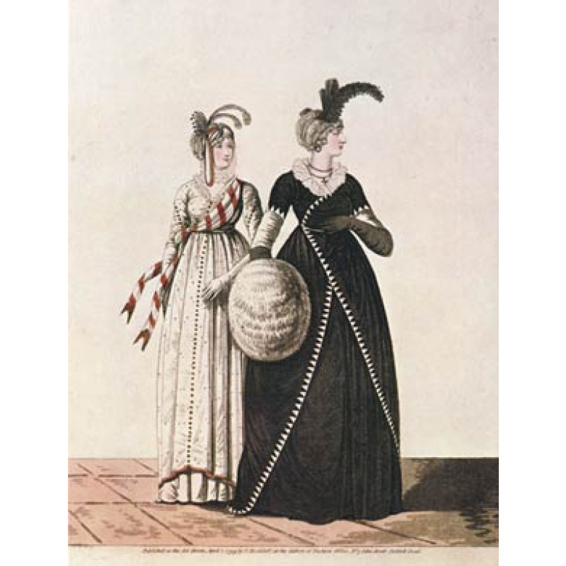 Afternoon Dresses, 1799