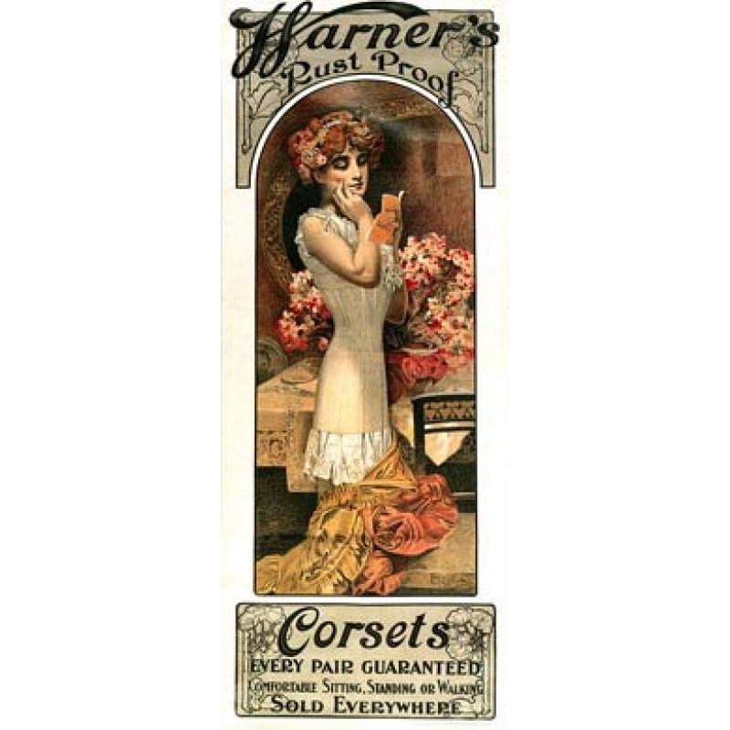 Warners Corsets, 1909