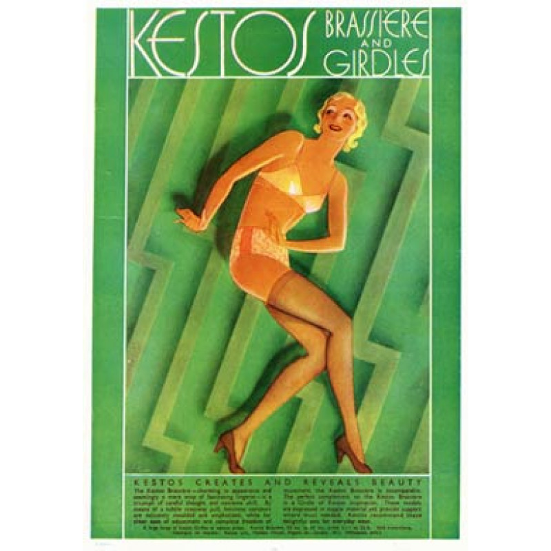 Kestos Brassiere & Girdles 1932