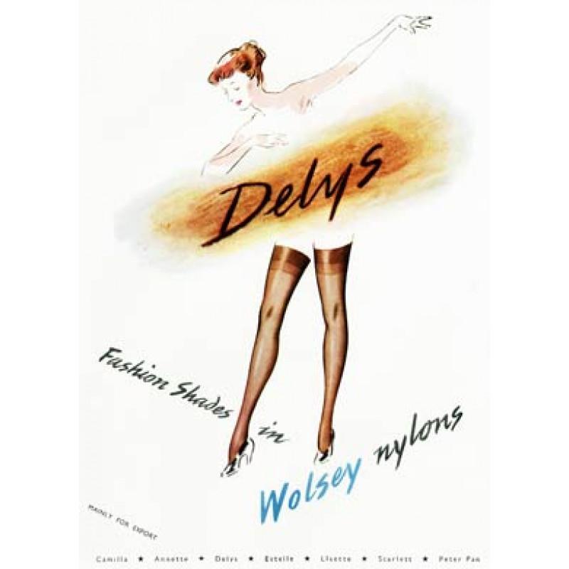 Delys, Wolsey Nylons, 1951