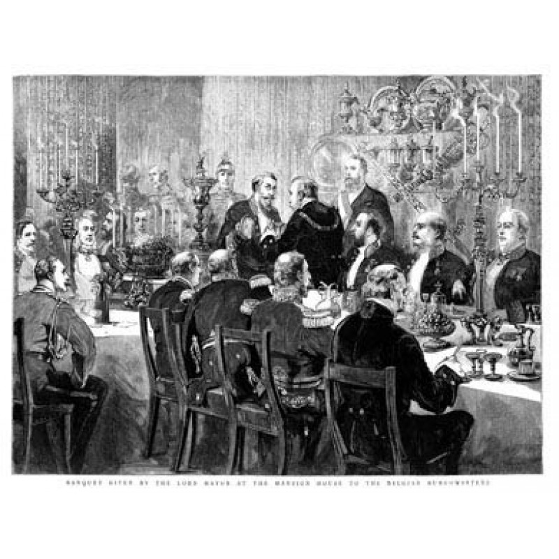 Lord Mayor's Banquet, 1888