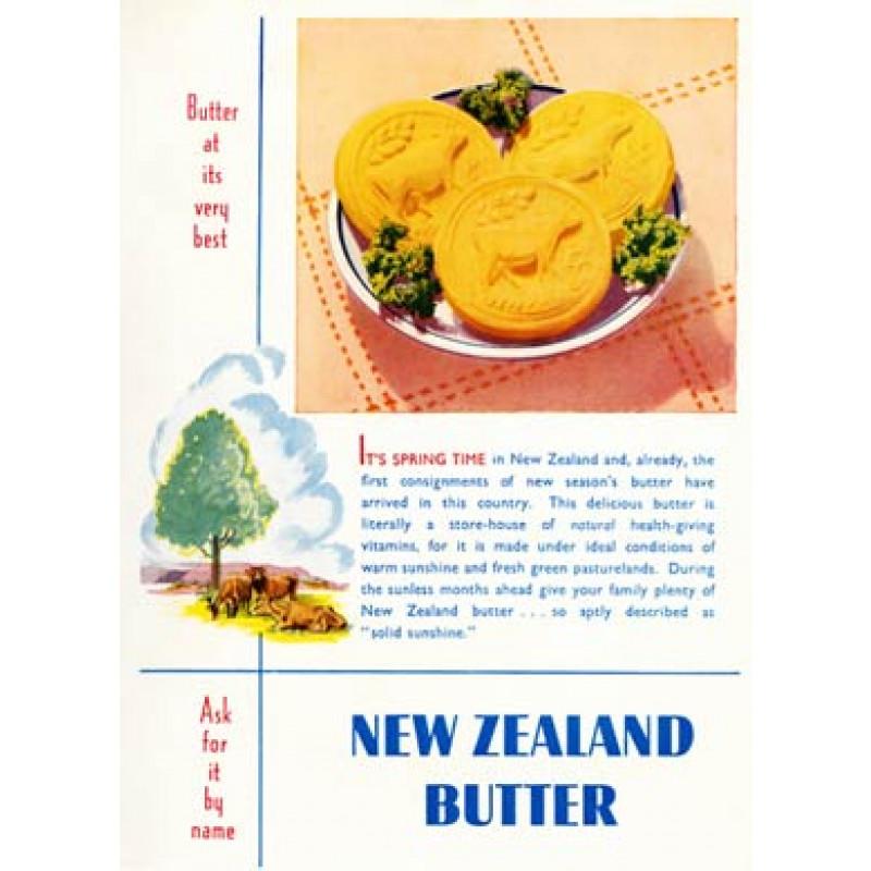 New Zealand Butter