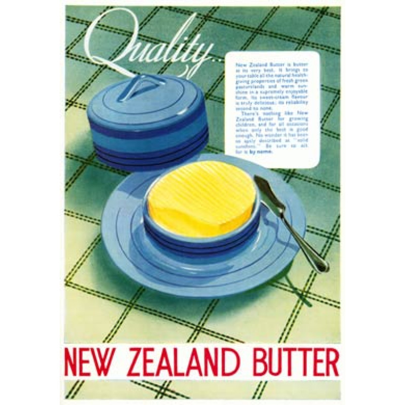 New Zealand Butter, Quality