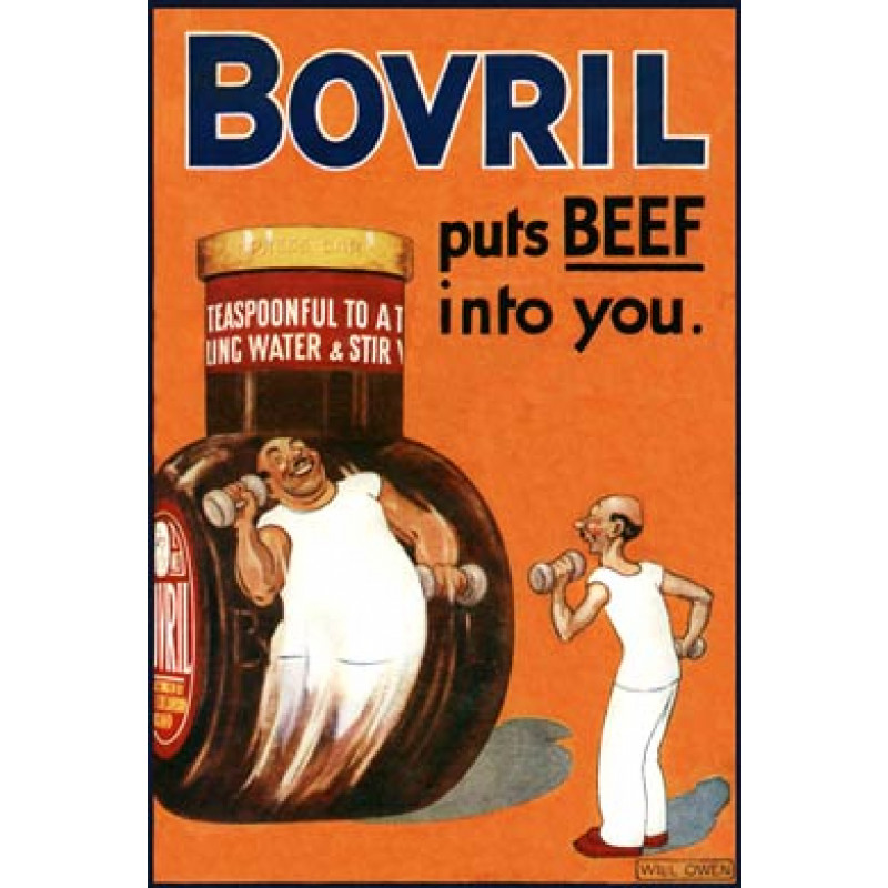 Bovril, Puts Beef Into You