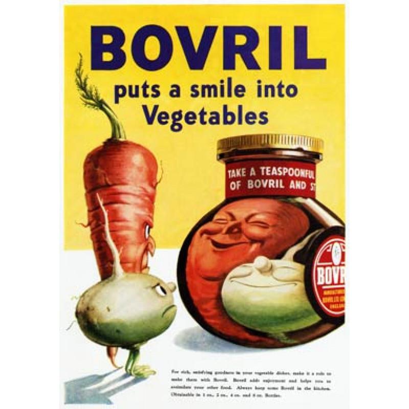 Bovril, Puts A Smile Into Vegetables