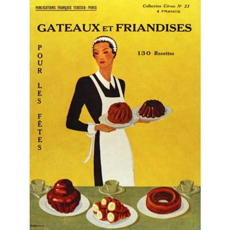 French Dessert Recipes, 1921