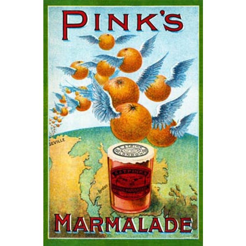 Pinks Marmalade, 1890