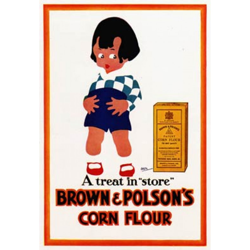 Brown & Polsons Corn Flour, 1930