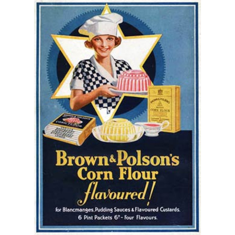 Brown & Polsons Corn Flour, 1931