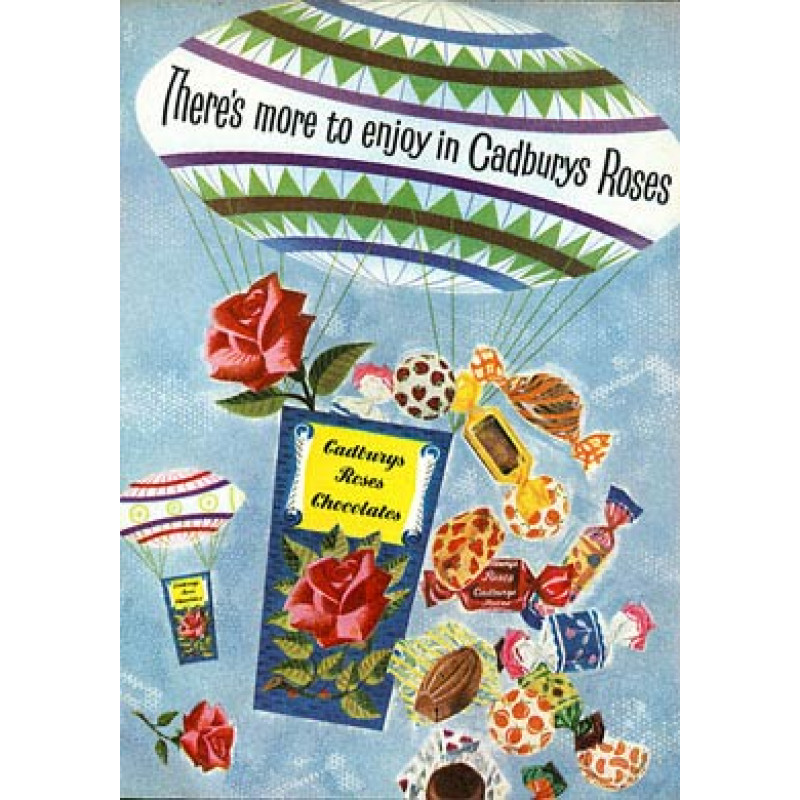 Cadbury's Roses, 1958