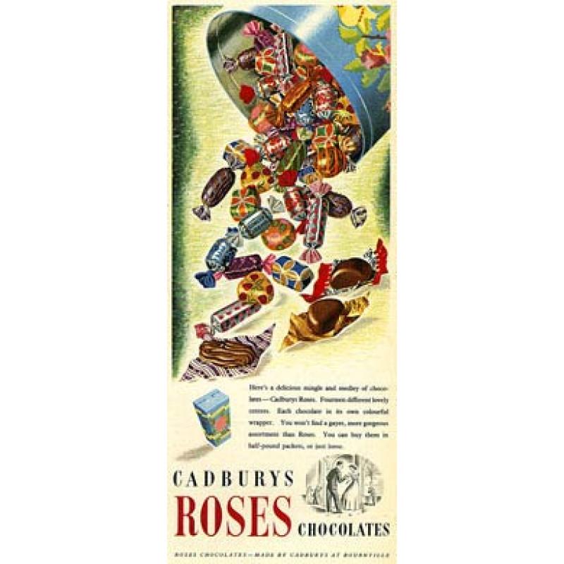 Cadbury's Roses, 1952