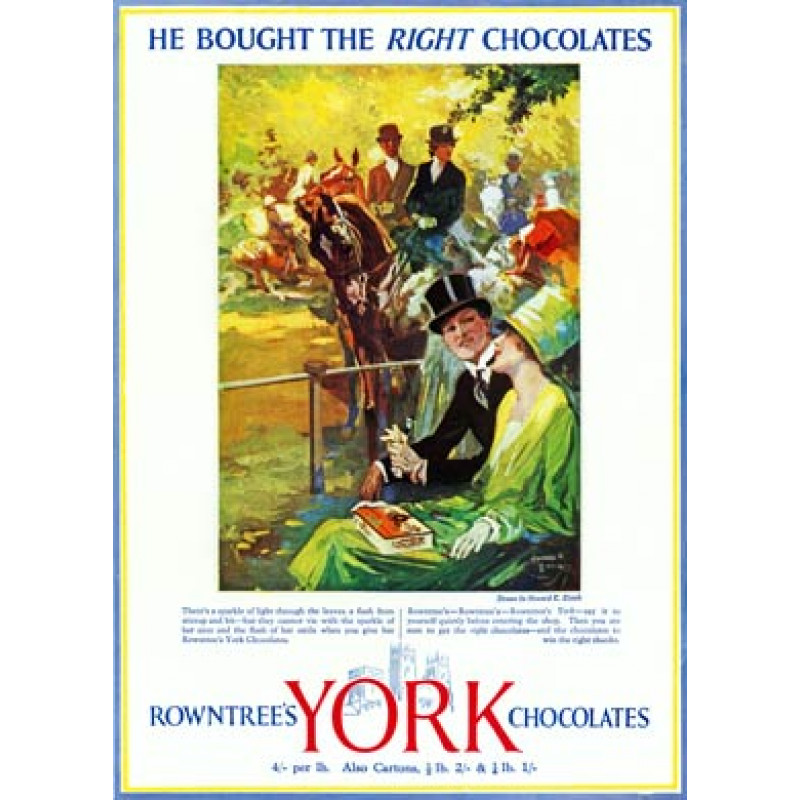 Rowntrees York Chocolates