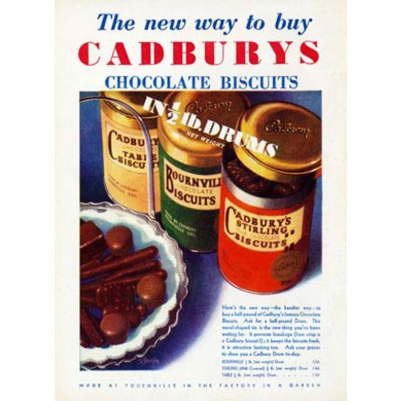 Cadbury's Biscuits, 1933