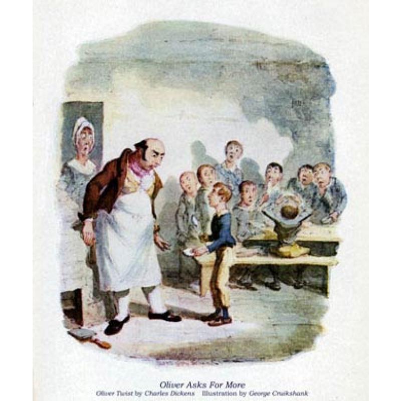 Oliver Twist, Oliver Asking For More