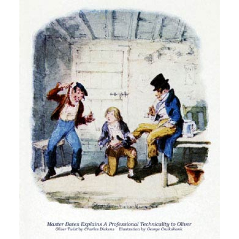 Oliver Twist, A Lesson From Master Bates And Dodger