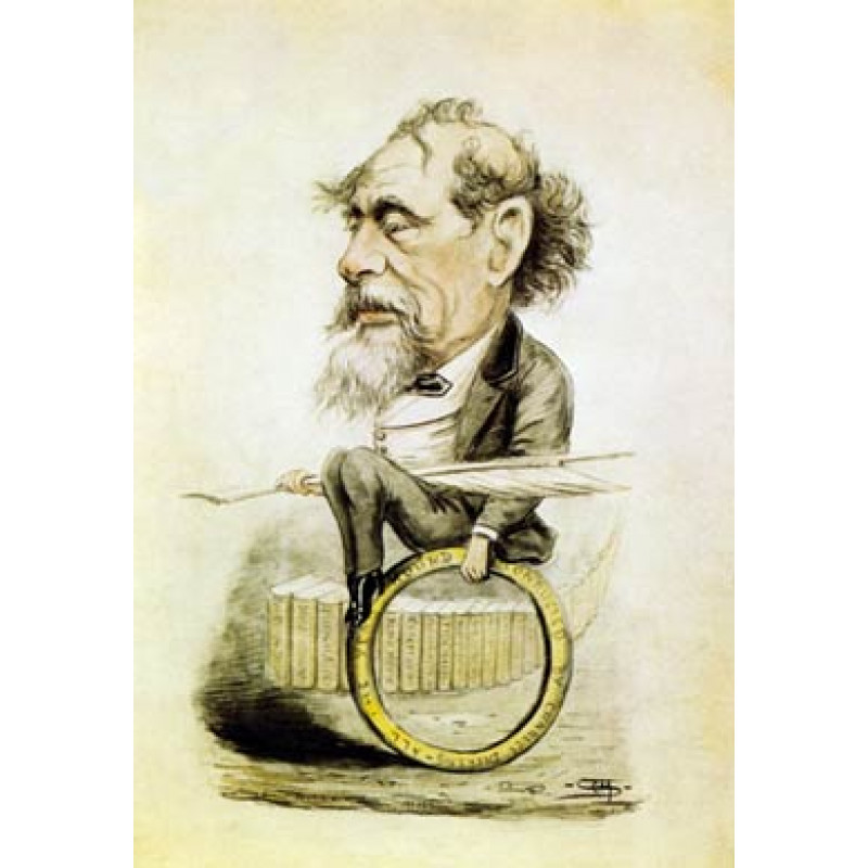 Charles Dickens, Cartoon