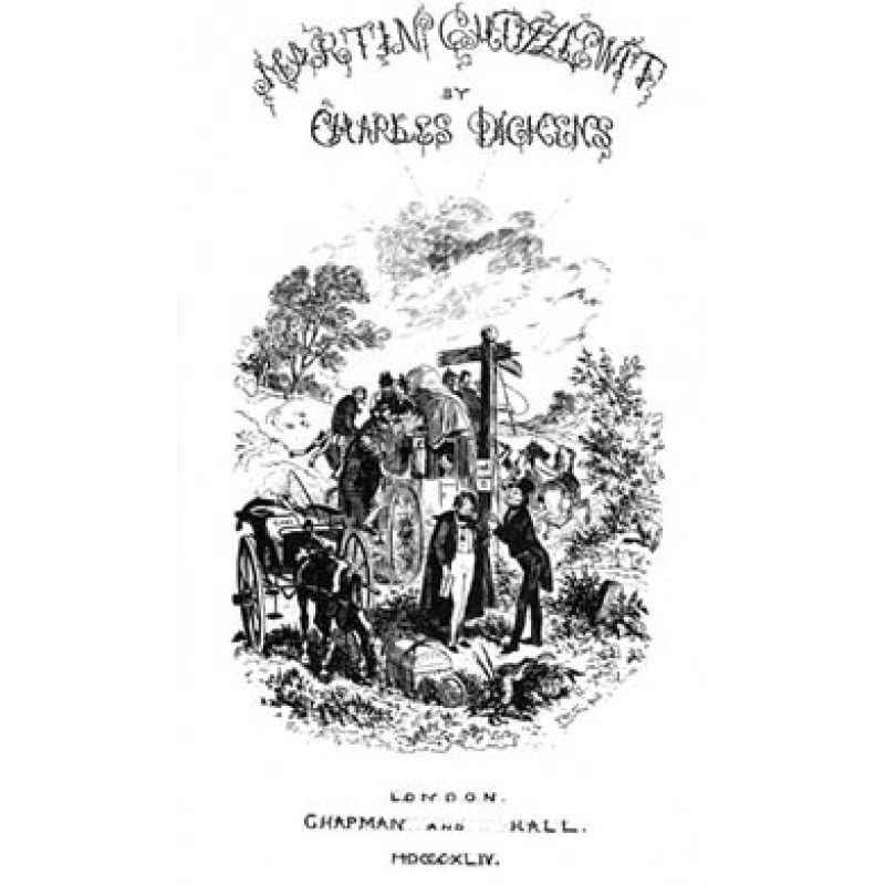 Martin Chuzzlewit, Title Page