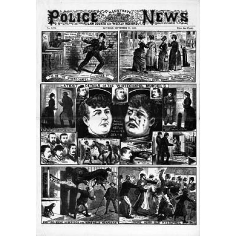 Jack The Ripper, Annie Chapman